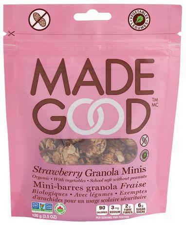 Made Good Organic Strawberry Granola Minis - image 1 of 2