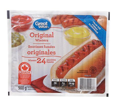 Great Value Original Wieners - image 1 of 2
