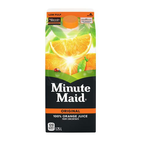 Minute Maid® 100% Orange Juice From Concentrate 1.75L carton - image 2 of 4