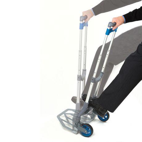 seville classics folding utility cart