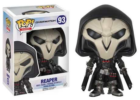 Funko POP! Games: Overwatch Action Figure - Reaper Vinyl Figure - image 1 of 1