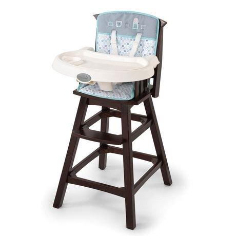 chaise haute en bois classic comfort summer infant turtle