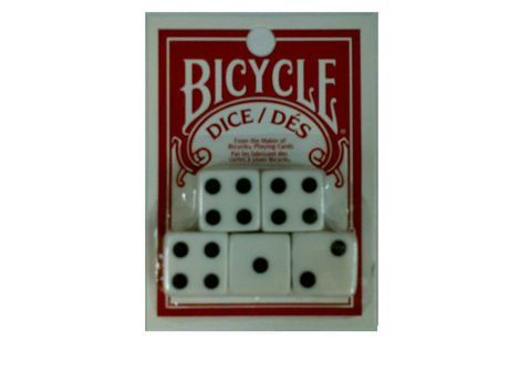 Bicycle Dice 5 Pack - image 1 of 1