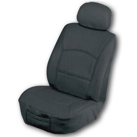 Masque Back Leather Seat Cover