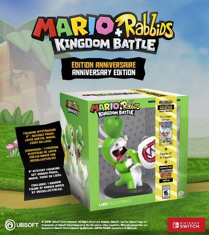 Ubisoft Mario + Rabbids Kingdom Battle Anniversary Edition Walmart Exclusive (Nintendo Switch) (includes 1 random figure) - image 2 of 8