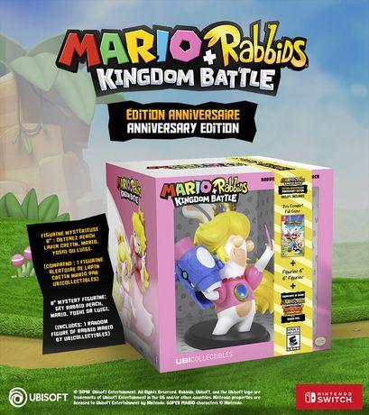 Ubisoft Mario + Rabbids Kingdom Battle Anniversary Edition Walmart Exclusive (Nintendo Switch) (includes 1 random figure) - image 3 of 8