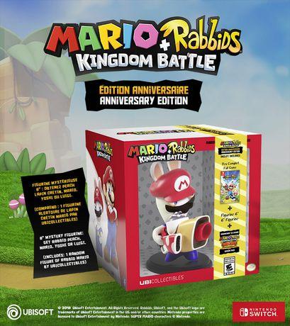 Ubisoft Mario + Rabbids Kingdom Battle Anniversary Edition Walmart Exclusive (Nintendo Switch) (includes 1 random figure) - image 4 of 8