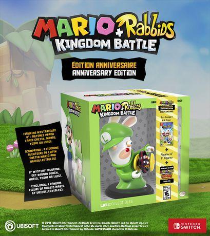 Ubisoft Mario + Rabbids Kingdom Battle Anniversary Edition Walmart Exclusive (Nintendo Switch) (includes 1 random figure) - image 5 of 8