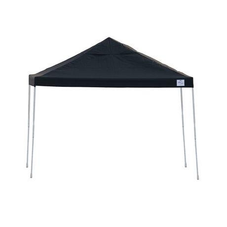 Pro 12x12 Black Straight Leg Pop Up Canopy