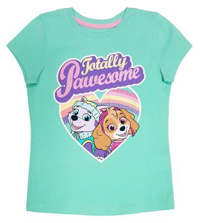 Paw Patrol Girls' Short Sleeve T-Shirt - image 1 of 1