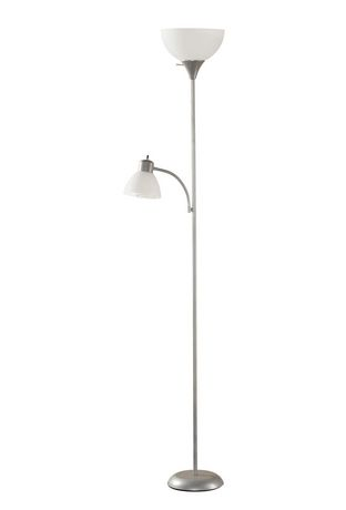 Mainstays Floor Lamp With Reading Light Walmart Canada
