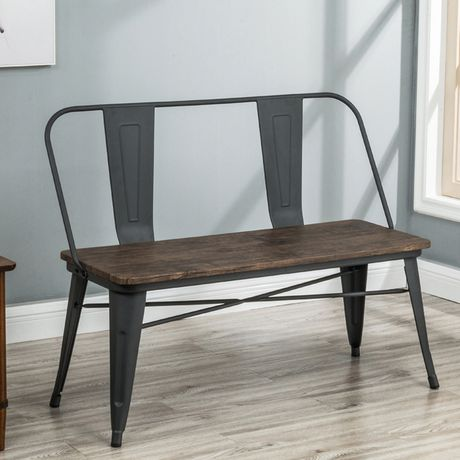 Industrial Double Bench - image 1 of 7