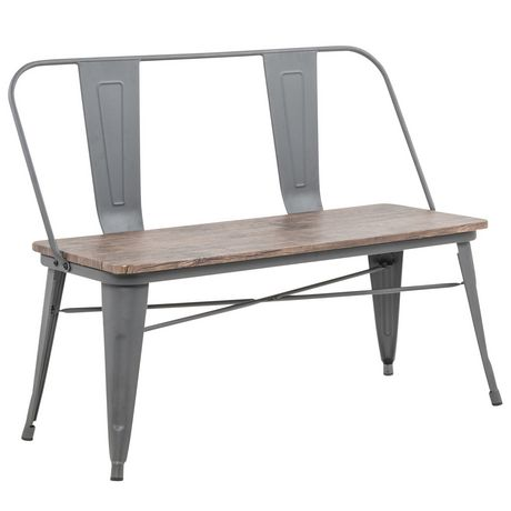 Industrial Double Bench - image 2 of 7