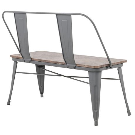 Industrial Double Bench - image 3 of 7
