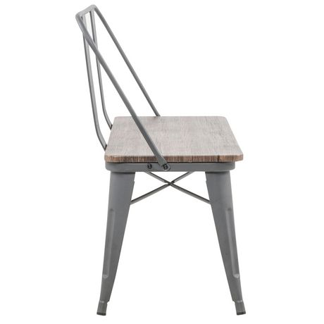 Industrial Double Bench - image 4 of 7