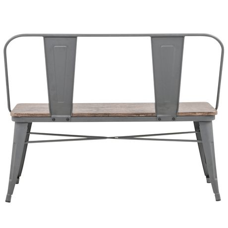 Industrial Double Bench - image 5 of 7