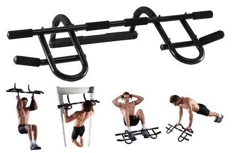 Iron Body Fitness IBF Door Gym Plus Pull up/Chin up Bar  sc 1 st  Walmart Canada & Iron Body Fitness IBF Door Gym Plus Pull up/Chin up Bar | Walmart ... pezcame.com