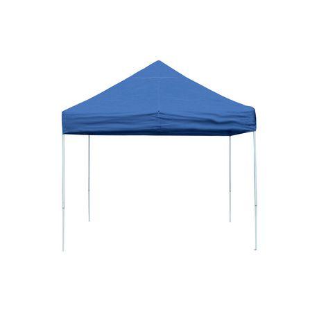 Pro 10 x 10 Blue Straight Leg Pop-Up Canopy - image 1 of ...  sc 1 st  Walmart Canada & Pro 10 x 10 Blue Straight Leg Pop-Up Canopy   Walmart Canada