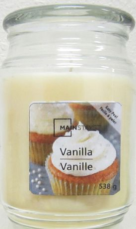 Mainstays Vanilla Candle - image 1 of 1