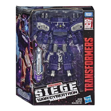 Transformers Generations War for Cybertron: Siege Leader Class Shockwave Action Figure - image 1 of 4
