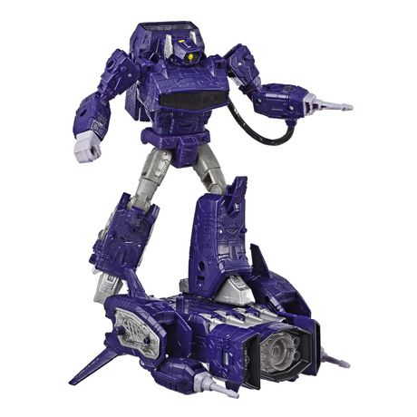 Transformers Generations War for Cybertron: Siege Leader Class Shockwave Action Figure - image 4 of 4