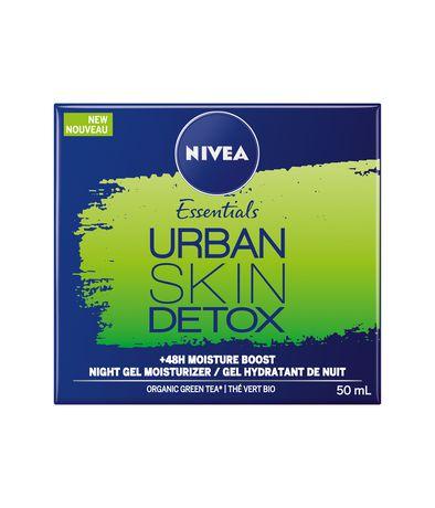 NIVEA Urban Skin Detox Night Gel Moisturizer - image 2 of 3