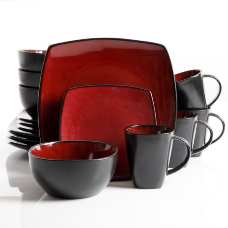 Hometrends 16 Piece Soho Lounge Dinnerware Set Walmart Ca