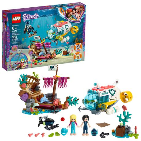 LEGO® Friends Dolphins Rescue Mission 41378 Building Set (363 Piece) - image 1 of 6