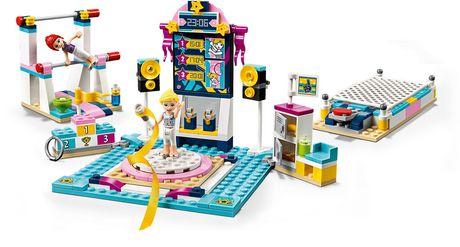 LEGO Friends Stephanie's Gymnastics Show 41372 Toy Building Kit (241 Piece)   Walmart Canada