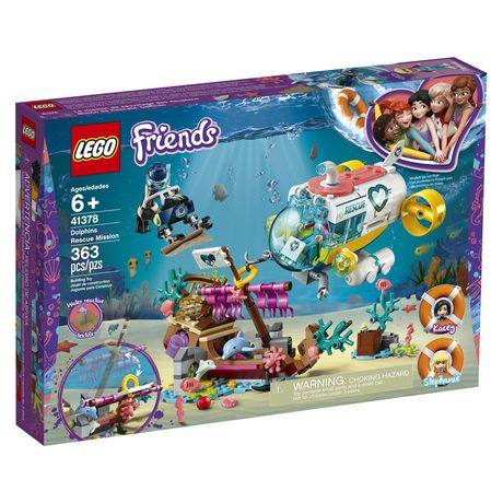 LEGO® Friends Dolphins Rescue Mission 41378 Building Set (363 Piece) - image 2 of 6