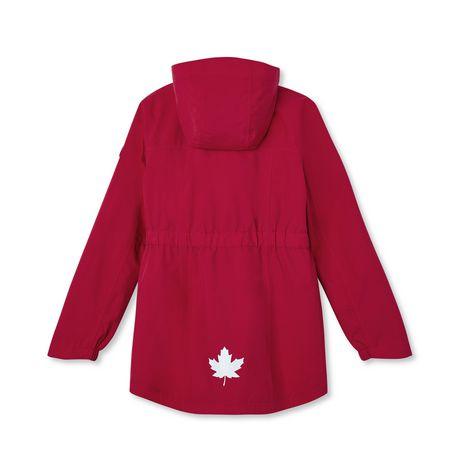 Canadiana Girls' Rain Jacket - image 2 of 2