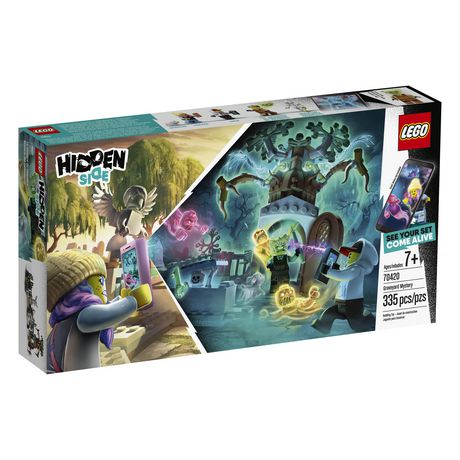 LEGO® Hidden Side™ Graveyard Mystery 70420 Building Kit, App Toy for 7+ Year Old Boys and Girls, Interactive Augmented Reality Playset (335 Pieces) - image 2 of 6