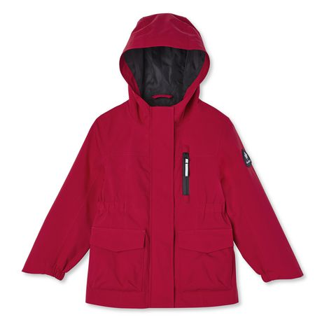 Canadiana Toddler Girls' Rain Jacket - image 1 of 2