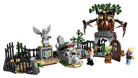 LEGO® Hidden Side™ Graveyard Mystery 70420 Building Kit, App Toy for 7+ Year Old Boys and Girls, Interactive Augmented Reality Playset (335 Pieces) - image 3 of 6