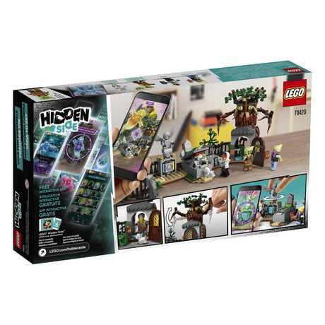LEGO® Hidden Side™ Graveyard Mystery 70420 Building Kit, App Toy for 7+ Year Old Boys and Girls, Interactive Augmented Reality Playset (335 Pieces) - image 6 of 6