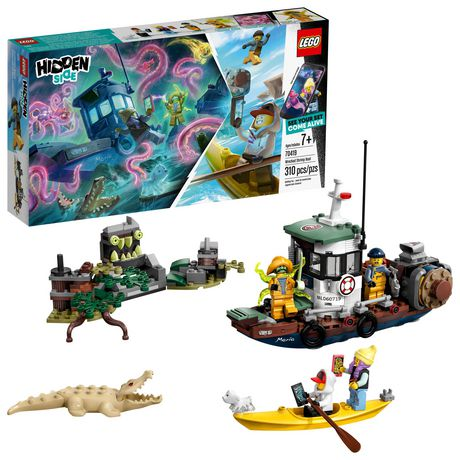 LEGO® Hidden Side™ Wrecked Shrimp Boat 70419 Building Kit, App Toy for 7+ Year Old Boys and Girls, Interactive Augmented Reality Playset (310 Pieces) - image 1 of 6