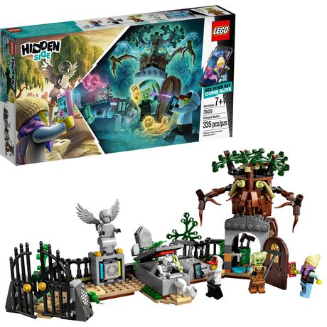 LEGO® Hidden Side™ Graveyard Mystery 70420 Building Kit, App Toy for 7+ Year Old Boys and Girls, Interactive Augmented Reality Playset (335 Pieces) - image 1 of 6