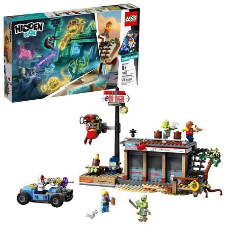 Lego Hidden Side Shrimp Shack Attack 70422 Building Kit, Ghost Playset For 8+ Year Old Boys And Girls, Interactive Aug