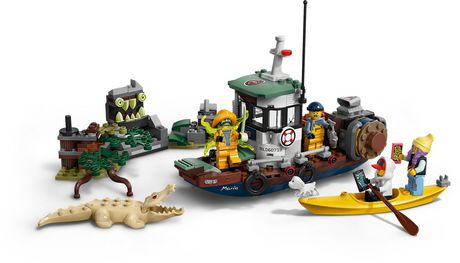 LEGO® Hidden Side™ Wrecked Shrimp Boat 70419 Building Kit, App Toy for 7+ Year Old Boys and Girls, Interactive Augmented Reality Playset (310 Pieces) - image 4 of 6