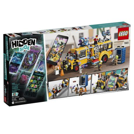 LEGO® Hidden Side™ Paranormal Intercept Bus 3000 70423 Building Kit, School Bus Toy for 8+ Year Old Boys and Girls, Interactive Augmented Reality Playset (689 Pieces) - image 6 of 6