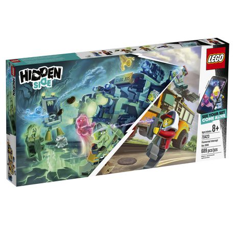 LEGO® Hidden Side™ Paranormal Intercept Bus 3000 70423 Building Kit, School Bus Toy for 8+ Year Old Boys and Girls, Interactive Augmented Reality Playset (689 Pieces) - image 2 of 6