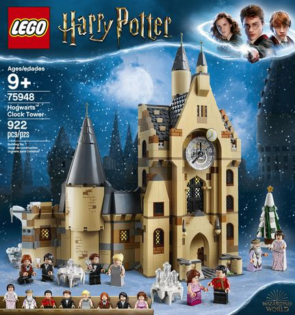 LEGO Harry Potter and the Goblet of Fire Hogwarts Clock Tower 75948 Toy Building Kit - image 5 of 6