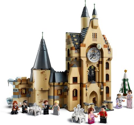 LEGO Harry Potter and the Goblet of Fire Hogwarts Clock Tower 75948 Toy Building Kit - image 4 of 6
