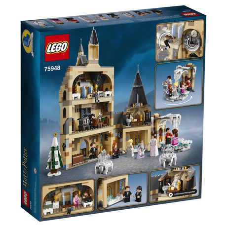 LEGO Harry Potter and the Goblet of Fire Hogwarts Clock Tower 75948 Toy Building Kit - image 6 of 6