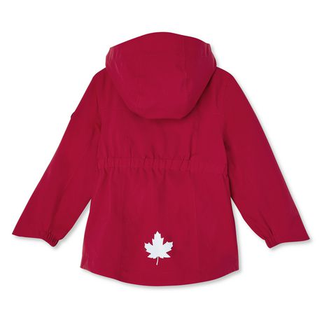 Canadiana Toddler Girls' Rain Jacket - image 2 of 2