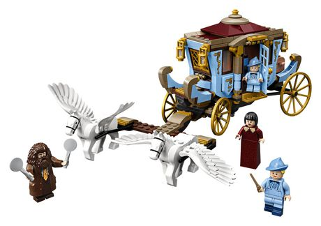 LEGO® Harry Potter™ and the Goblet of Fire™ Beauxbatons' Carriage: Arrival at Hogwarts™ 75958 Building Kit (430 Piece) - image 3 of 6