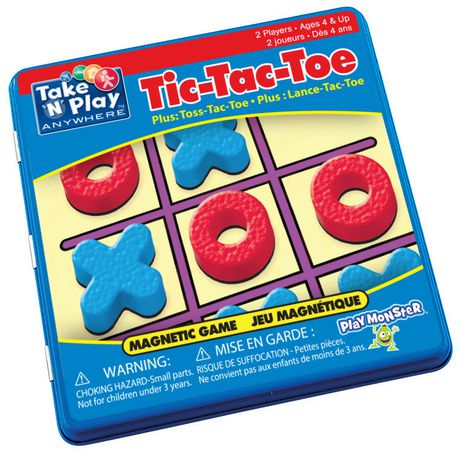 Take 'N' Play Anywhere™ Take 'n' Play Anywhere Tic-Tac-Toe Magnetic GAME - image 1 of 2