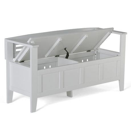 banc de rangement chandler pour l 39 entr e de wyndenhall. Black Bedroom Furniture Sets. Home Design Ideas