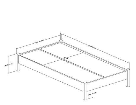a10f7d16ea9ed South Shore SoHo Twin 39-inch Platform Bed