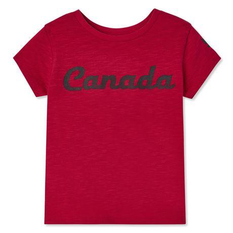 T-shirt Canadiana pour petites filles - image 1 de 2